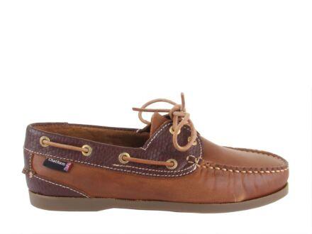 Chatham Bermuda Lady II G2 Boat Shoe Walnut/Brown