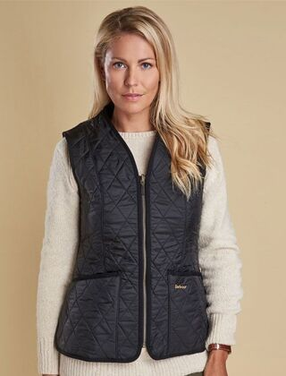 Barbour Fleece Betty Liner Black
