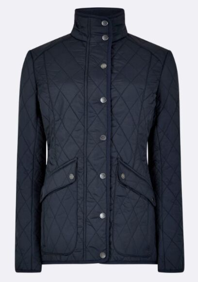Dubarry Bettystown Quilted Jacket Navy