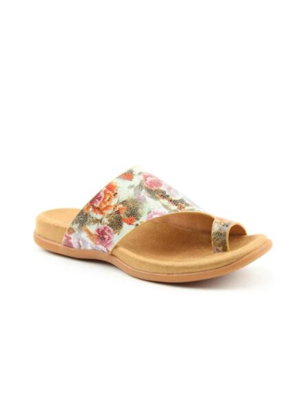Heavenly Feet Beverley Sandals Mint Floral
