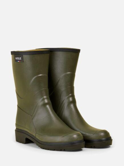 Aigle Men's Bison 2 Ankle Boot Khaki
