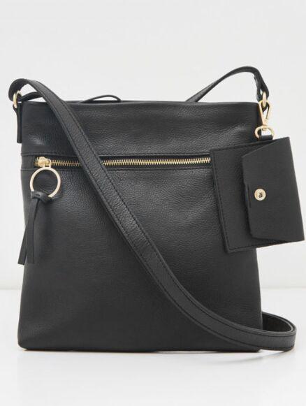 White Stuff Lottie Crossbody Bag Black