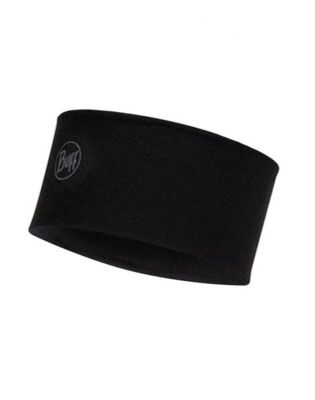 Buff Wear Midweight Merino Wool Solid Black
