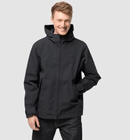 Jack Wolfskin Men's Cold Canyon Jacket Black