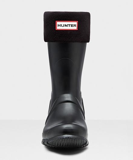 Hunter Short Boot Socks Black