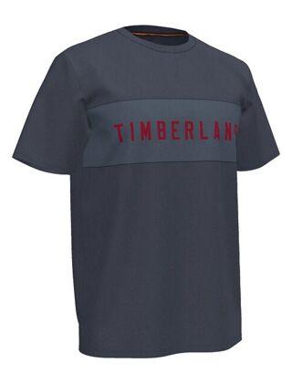 Timberland Block Branded Carrier T-Shirt Dark Sapphire