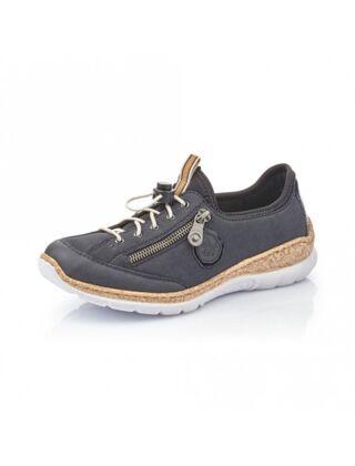 Rieker N4263-14 Lace Up Shoe Blue