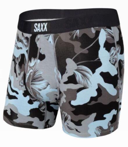 SAXX Vibe Boxer Brief Blue Camo Flora