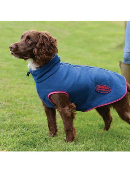 Weatherbeeta Comfitec Fleece Zip Dog Coat Berry/Pink
