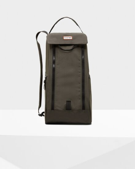 Hunter Original Tall Boot Bag Dark Olive
