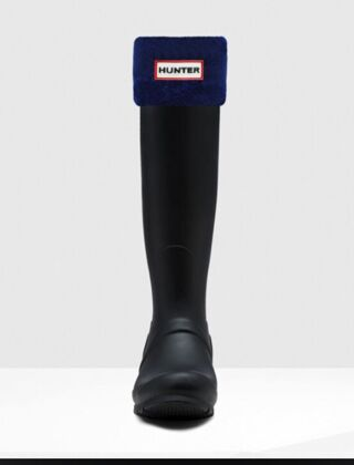 Hunter Boot Socks Navy