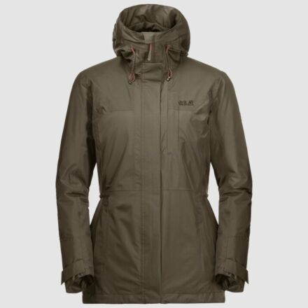 Jack Wolfskin Women's Brecon Range Insulated Jacket Granite
