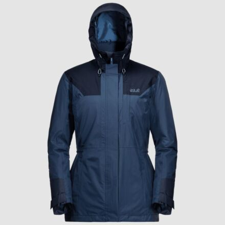 Jack Wolfskin Women's Brecon Range Insulated Jacket Dark Indigo
