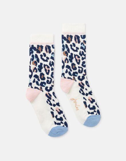 Joules Brilliant Bamboo Socks Animal Print