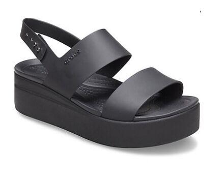 Crocs Brooklyn Low Wedge Black