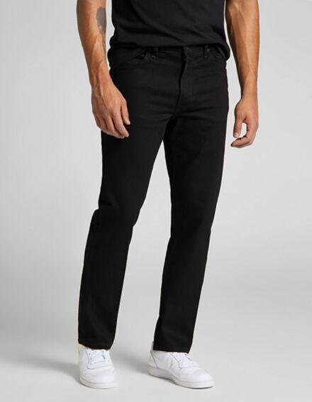 Lee Brooklyn Straight Jean Clean Black