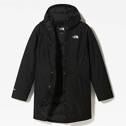 The North Face Women's Recycled Brooklyn Parka TNF Black