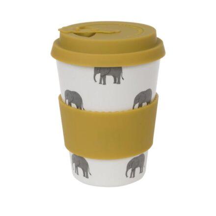 Sophie Allport Elephant Bamboo Travel Mug