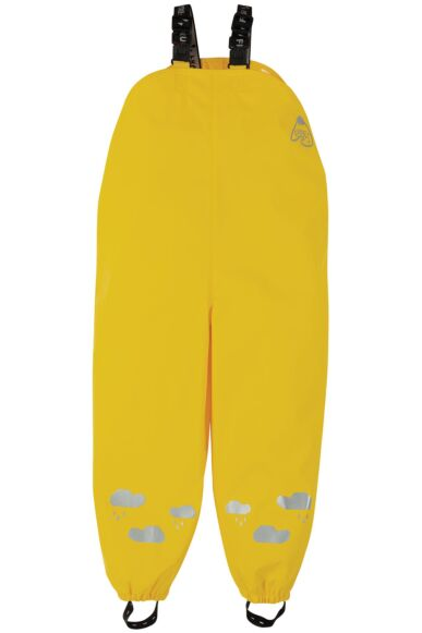 Frugi Puddle Buster Trousers Sunflower