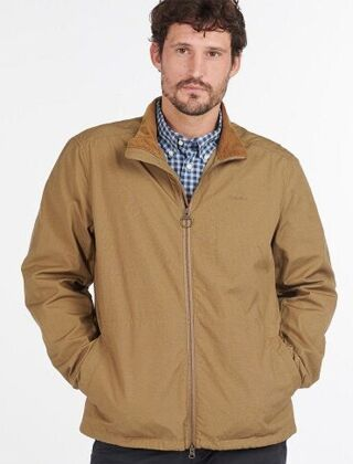 Barbour Burden Casual Jacket Stone