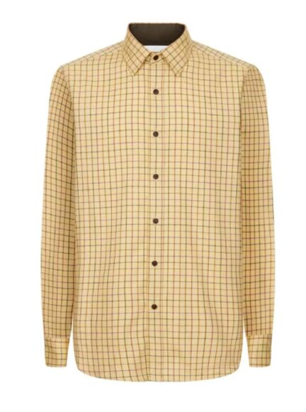 Le Chameau Men's Burford Shirt Brown Check