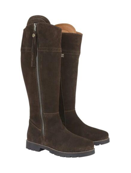Cabotswood Burleigh Zip Up Boots Chocolate