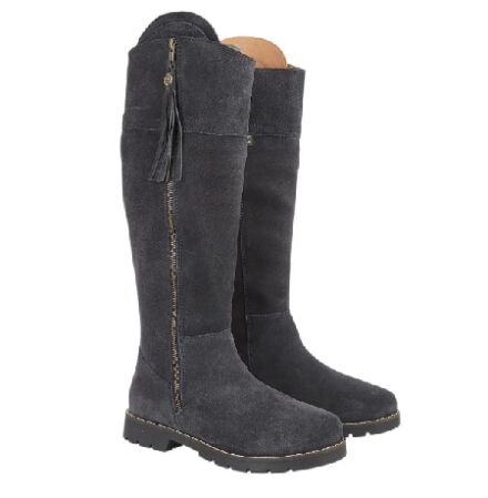 Cabotswood Burleigh Zip Up Boots Navy