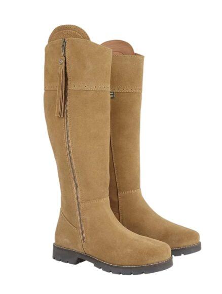Cabotswood Burleigh Zip Up Boots Truffle
