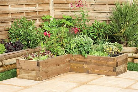 Forest Gardens Caledonian Corner Raised Bed