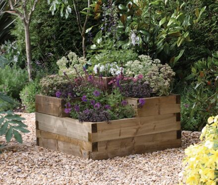 Forest Gardens Caledonian Tiered Raised Bed