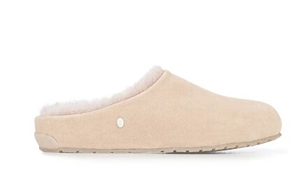 Emu Monch Suede Slippers Camel