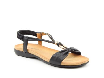 Heavenly Feet Campari Sandals Black