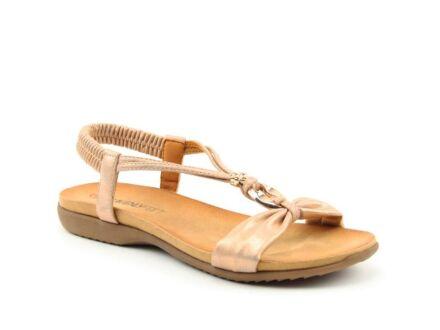 Heavenly Feet Campari Sandals Rose Gold