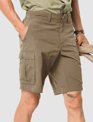 Jack Wolfskin Men's Canyon Cargo Shorts Sand Dune