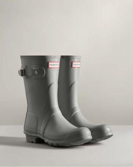 Hunter Women's Original Short Boot Tundra Grey