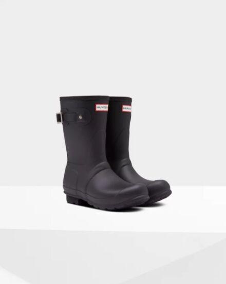 Hunter Women's Original Insulated Short Boot Black
