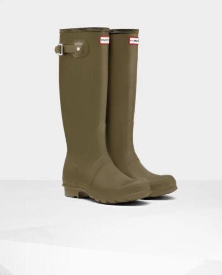 Hunter Women's Original Tall Boot Olive Green