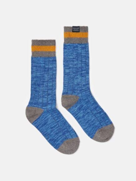 Joules Boot Socks Windsor Blue
