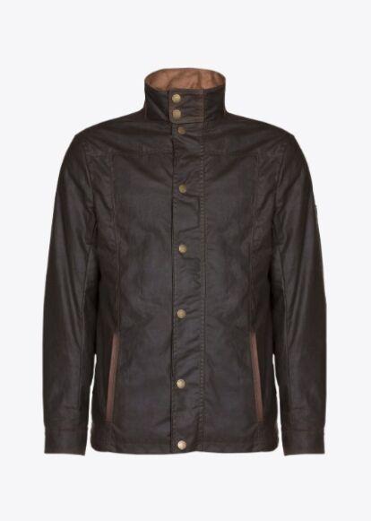 Dubarry Carrickfergus Waxed Jacket Olive