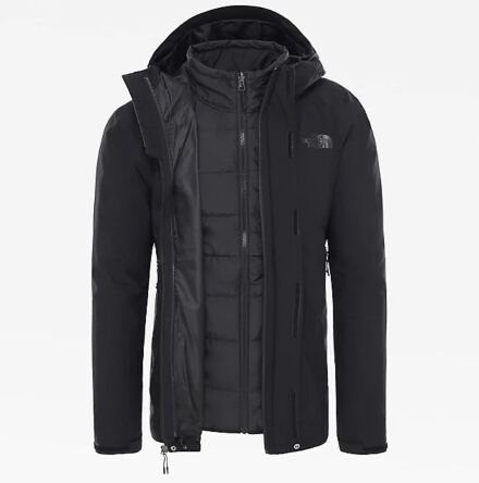 The North Face Men's Carto Triclimate Jacket Black
