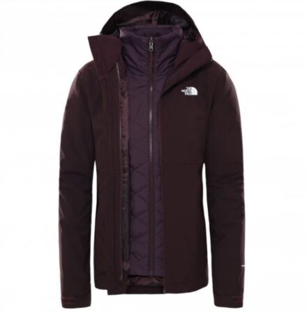 The North Face Women's Carto Zip In Trclimate Jacket Root Brown