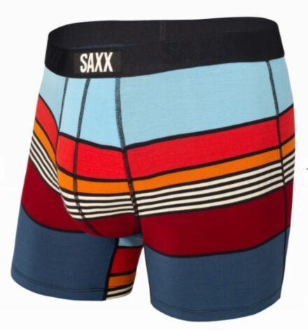 SAXX Vibe Boxer Brief Navy Super Stripe