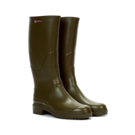 AIGLE CHAMBORD PRO 2 ALL TERRAIN WELLINGTON BOOT KAKI - Front