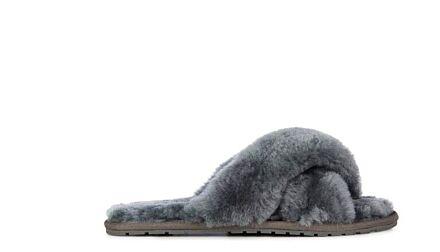 Emu Mayberry Doubleface Sheepskin Slippers Charcoal