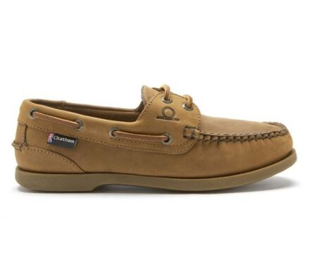 Chatham The Deck Mens II G2 Boat Shoes Walnut