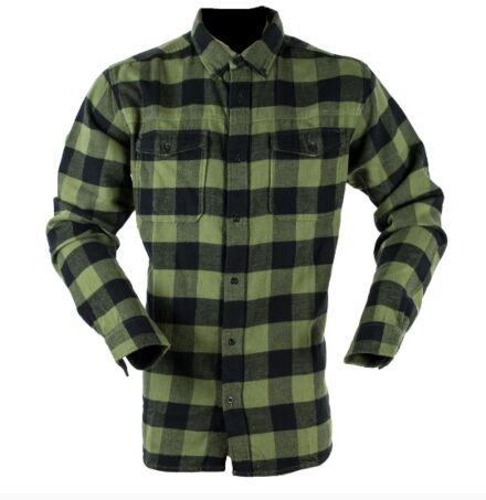 Ridgeline Classic Check Shirt Green & Black