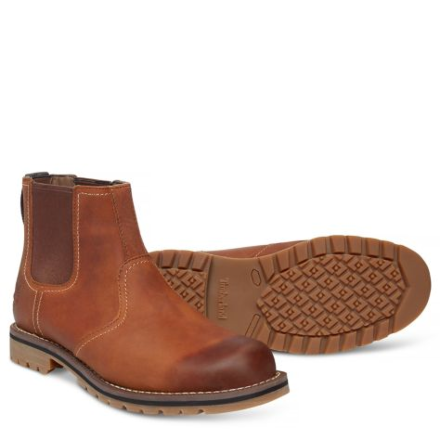 Timberland Larchmont Chelsea Boots Brown