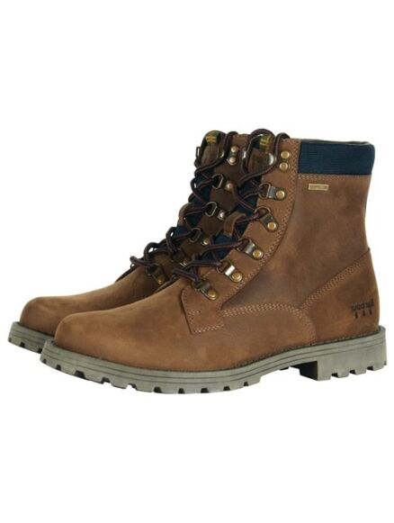 Barbour Chiltern Boots Brown
