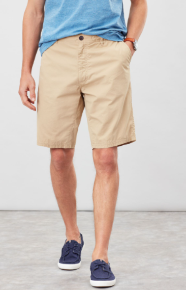 Joules Chino Shorts Classic Fit Brown
