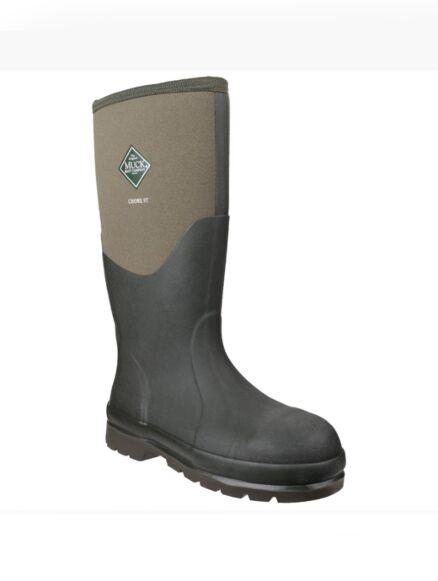 Muck Boot Chore Classic Steel Toe Tall Boots Moss